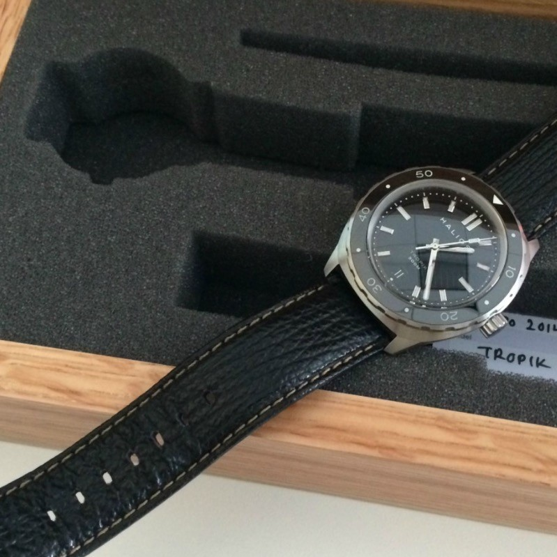 Unboxing my new watch.