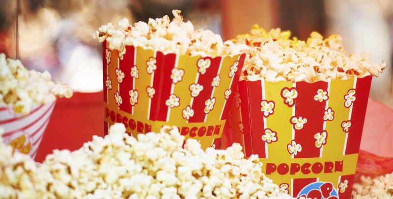 It's not just about the popcorn but that's a big part of it.