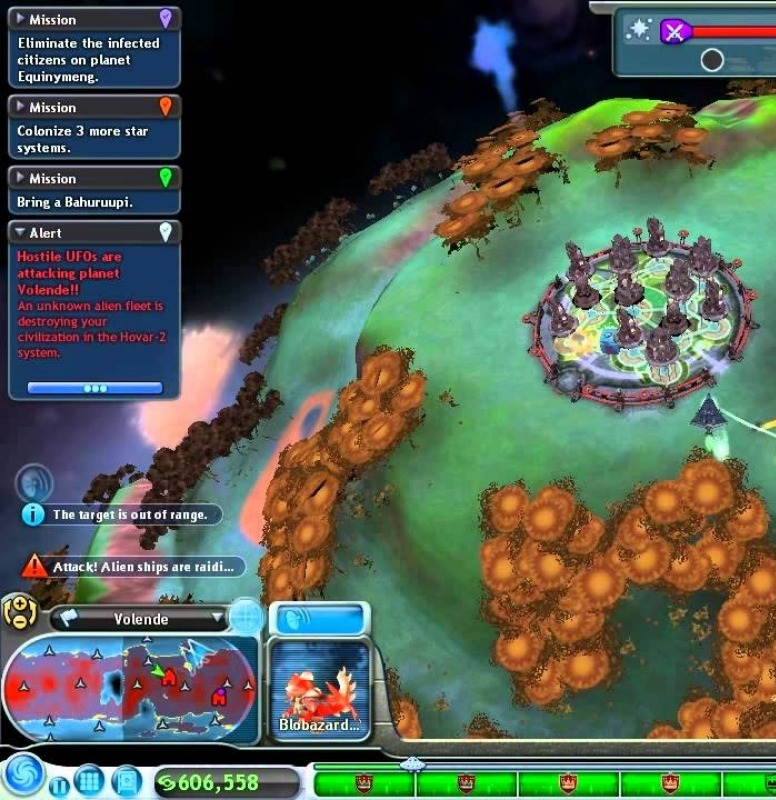 Spore's space stage is the biggest