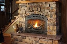 My gas fire place.
